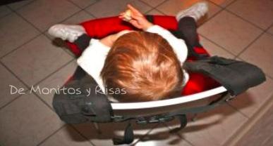 Sujetar mochila a la silla