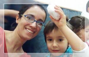 Marcos, mamá y el fondant