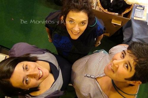 Con Sara García-Cano e Isabel Marin, Asesoras Continuum.