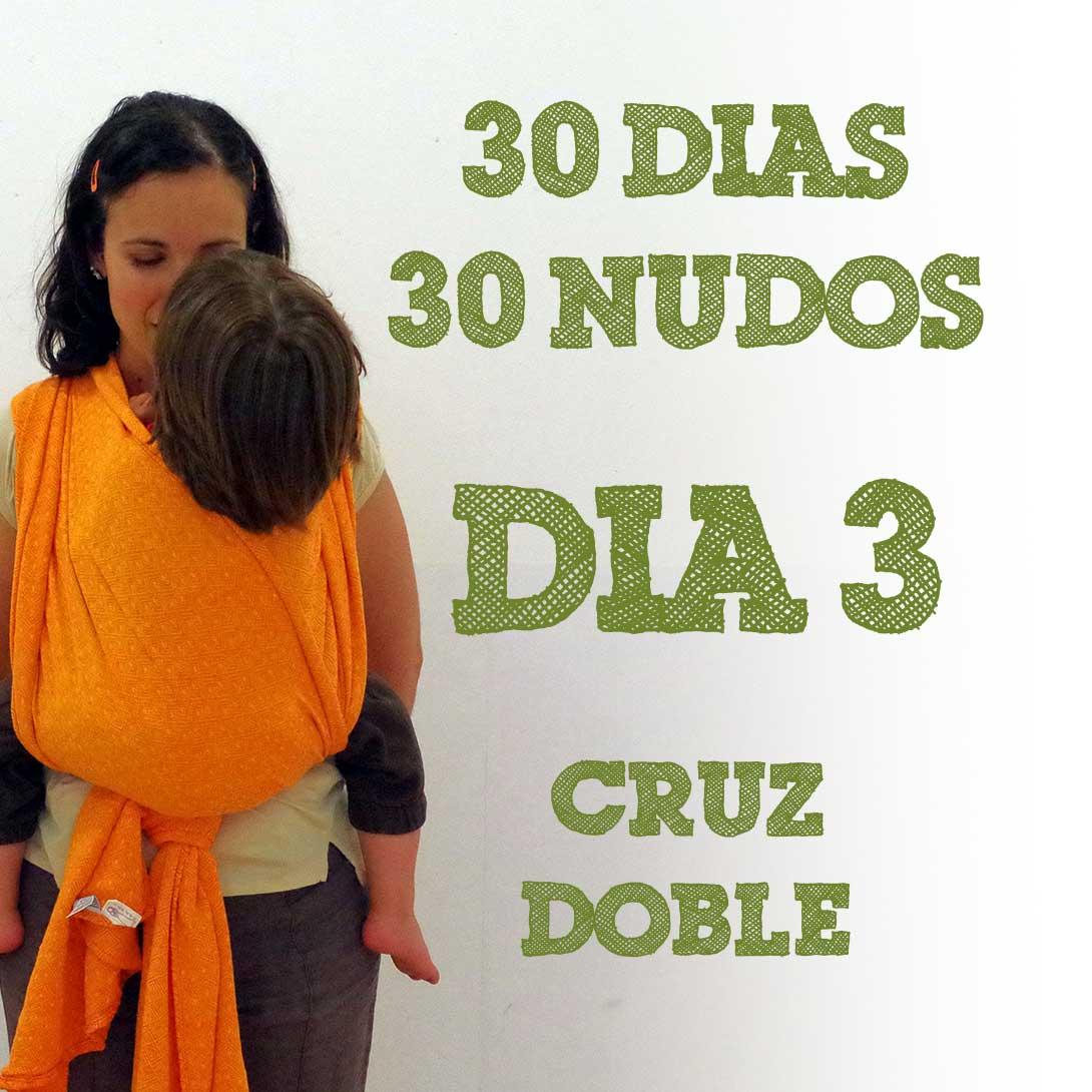 Día 3.- Cruz doble #30dias30nudos