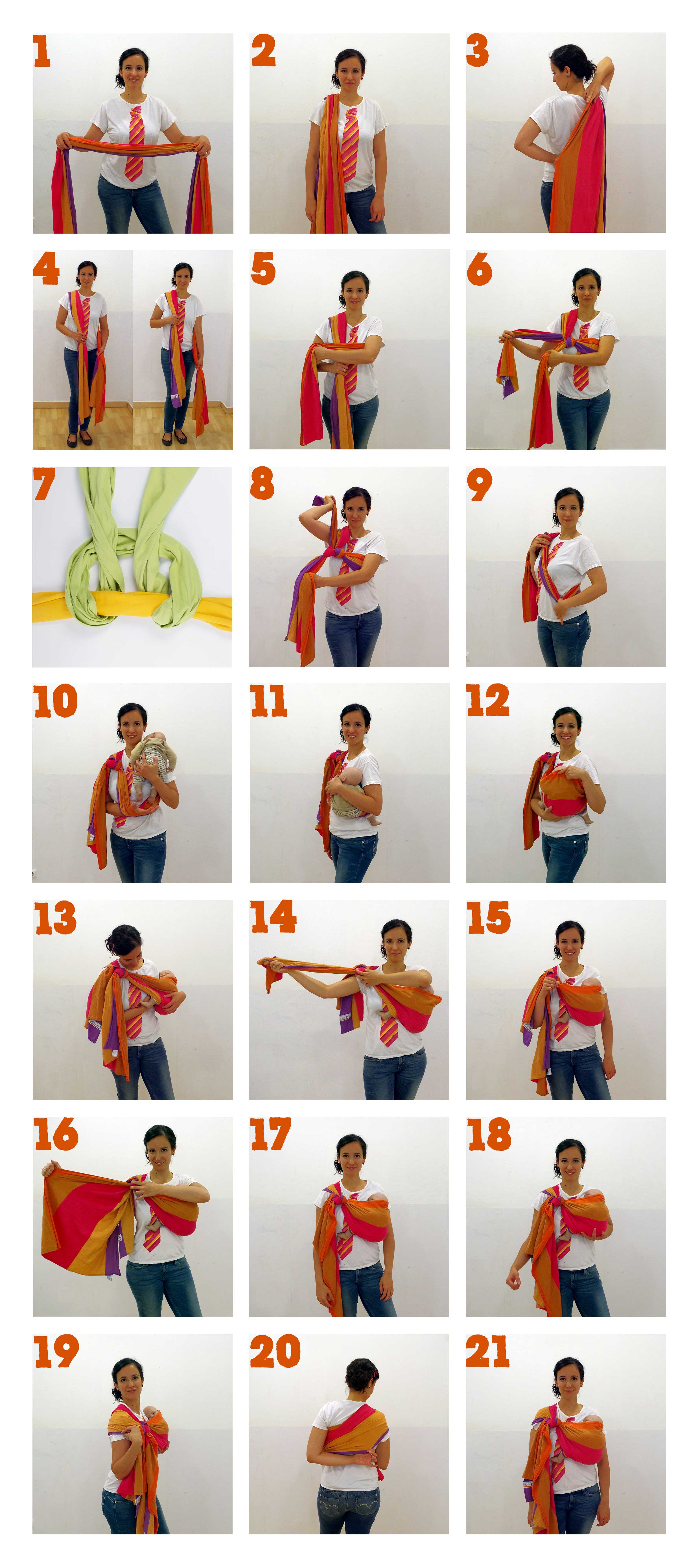 How to Rebozo Hip Carry