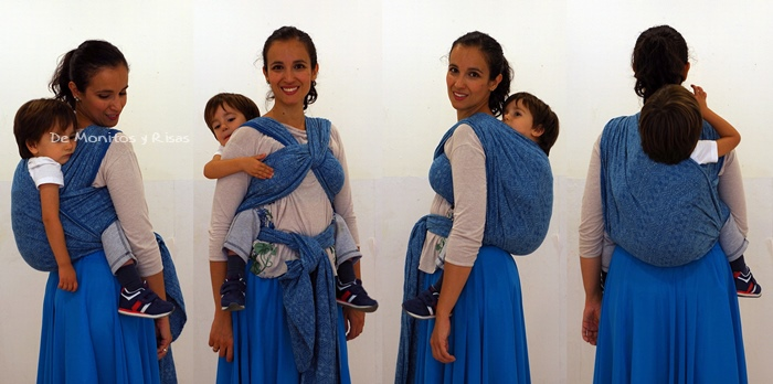 Christina's Ruckless con niño de 3 años