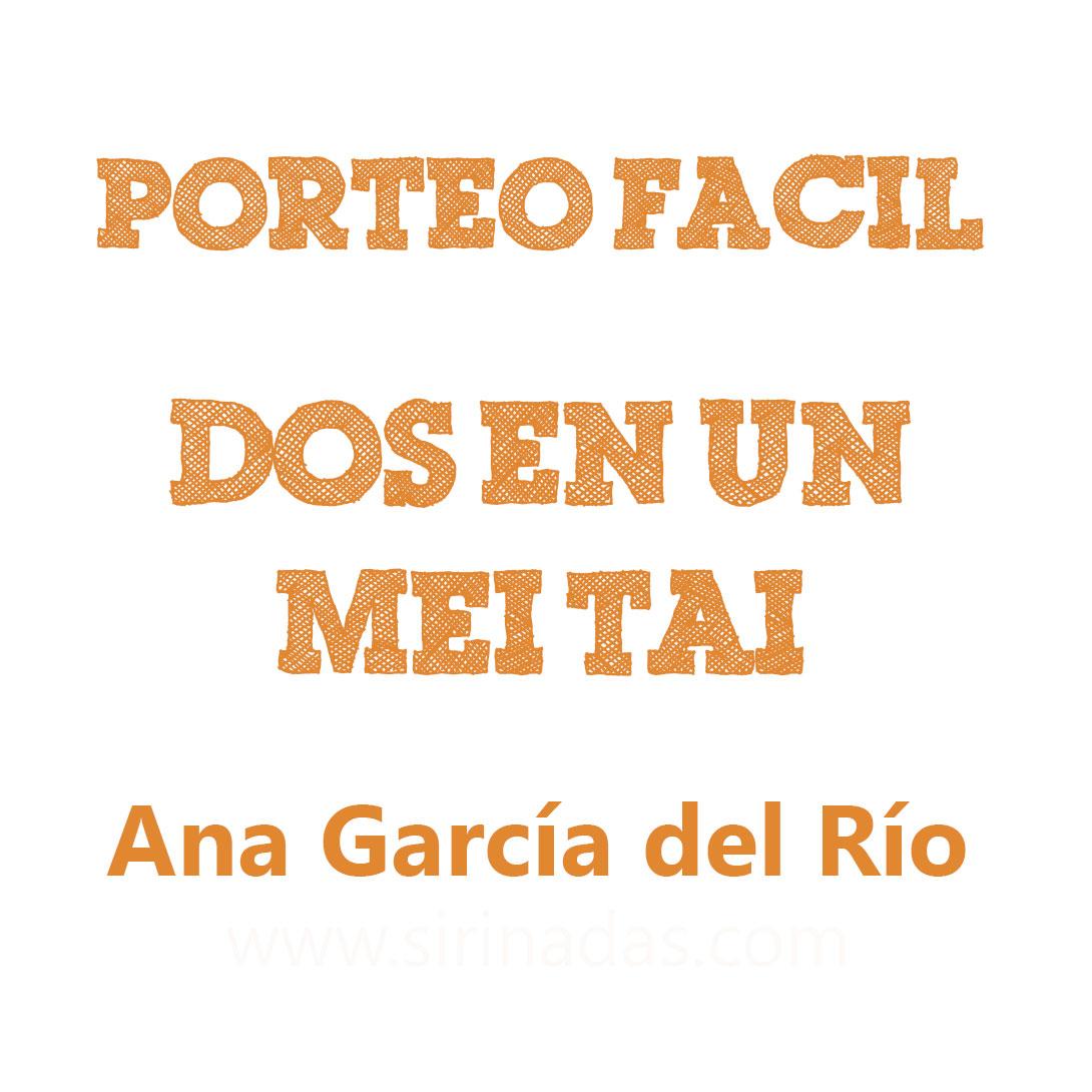 Dos en un mei tai, por Ana García #PorteoFacil