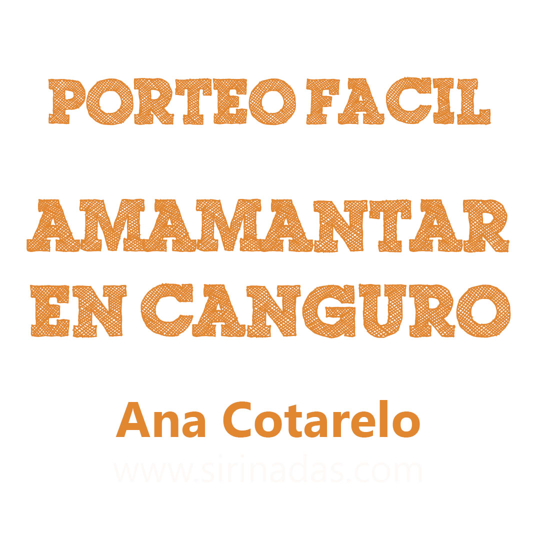 Amamantar en canguro delante, por Ana Cotarelo #PorteoFacil