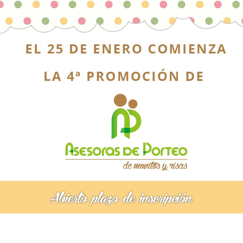 Comienza la Cuarta Promoción de Asesoras De Porteo De Monitos y Risas