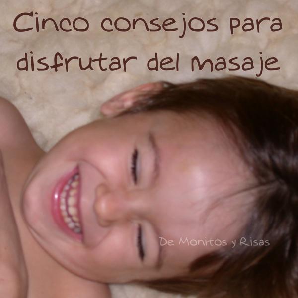 Cinco consejos para que tu bebé disfrute del masaje