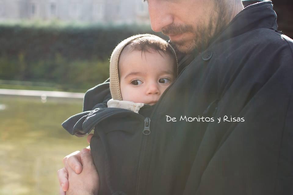 Fernando con su pequeña