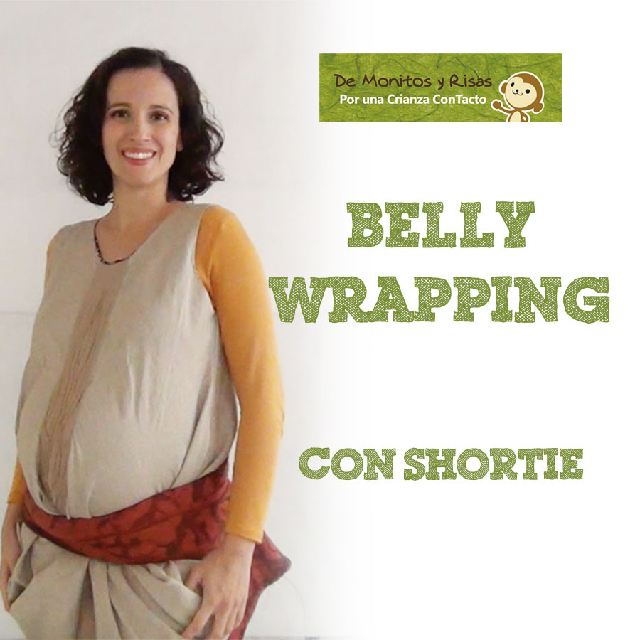 Bellywrapping con fular corto