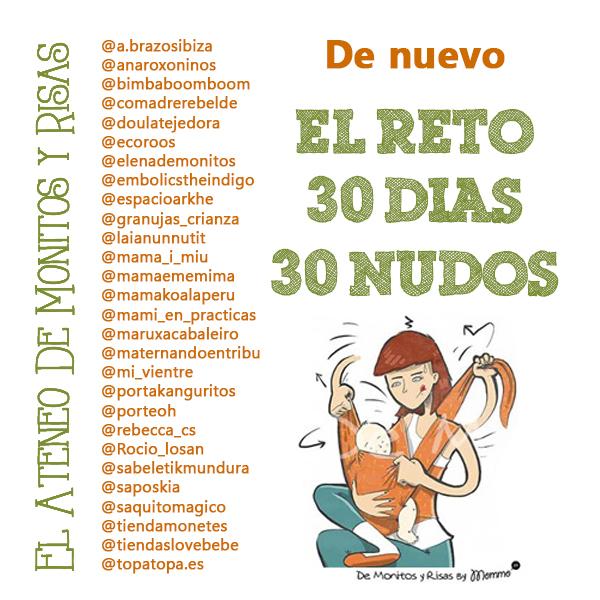 Vuelven los #30dias30nudos